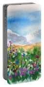 Flowers At Wolf Creek Portable Battery Charger