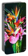 Flowers For You 1 Portable Battery Charger
