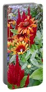Flowers Galore Portable Battery Charger