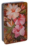 Flowers II Portable Battery Charger