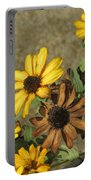 Flowers In Fall 1 Portable Battery Charger