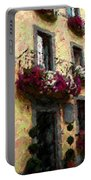 Flowers In Lazio Portable Battery Charger