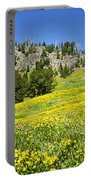 Flowers In The Park Portable Battery Charger