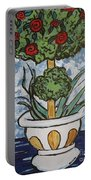 Flowers In Vase Portable Battery Charger