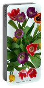 Flowers  Just  For  You Portable Battery Charger