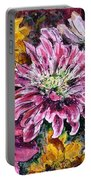 Flowers Of Love Portable Battery Charger
