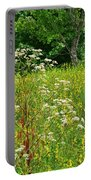 Flowers Of The Field Portable Battery Charger