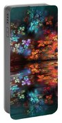 Flowers Of The Night Portable Battery Charger