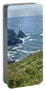 Flowers On Isle Of Guernsey Cliffs Portable Battery Charger