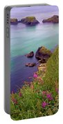 Flowers On The Coast Portable Battery Charger