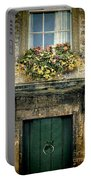 Flowers Over Doorway Portable Battery Charger