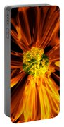 Flowery Flames Portable Battery Charger