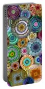 Flowery Meadow 3 Portable Battery Charger