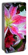 Flowerz Portable Battery Charger