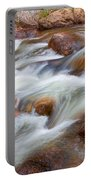 Flowing St Vrian Creek   Portable Battery Charger
