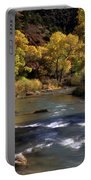 Flowing Through Zion National Park Portable Battery Charger