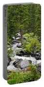 Fluid Motion - Crazy Woman Canyon - Crazy Woman Creek - Johnson County - Wyoming Portable Battery Charger