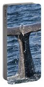 Flukes Of A Sperm Whale 2 Portable Battery Charger by Heiko Koehrer-Wagner