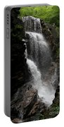 Flume Gorge Waterfall Nh Portable Battery Charger