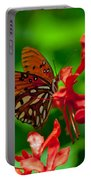 Fluttering Buttefly Portable Battery Charger