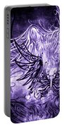 Fly Away Gothic Grape Portable Battery Charger