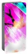 Fly Away Home Abstract Portable Battery Charger