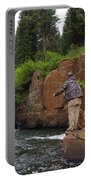 Fly Fisherman's Paradise Portable Battery Charger