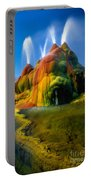 Fly Geyser Travertine Portable Battery Charger