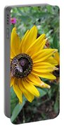 Fly On Rudbeckia Portable Battery Charger