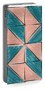 Flyfoot Quilt Block 1 Portable Battery Charger