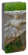 Flying Angel In Ephesus-turkey Portable Battery Charger