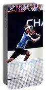Flying Federer  Portable Battery Charger