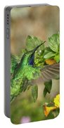 Flying Green Violetear Portable Battery Charger