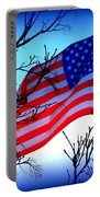 Flying Ol Glory Portable Battery Charger