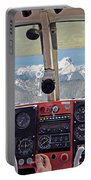 Flying Over North Cascades Portable Battery Charger