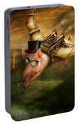 Flying Pig - Steampunk - The Flying Swine Portable Battery Charger