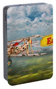 Flying Pigs - Plane - Eat Beef Portable Battery Charger