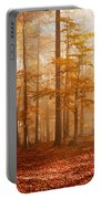 Foggy Beech Forest Portable Battery Charger