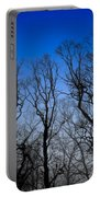 Foggy Blue Morning Portable Battery Charger