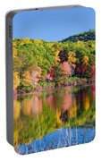 Foilage In The Fall Portable Battery Charger