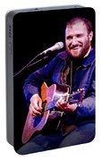 Folk Musician David Bazan In Concert Portable Battery Charger