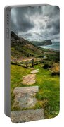 Follow The Path Portable Battery Charger by Adrian Evans