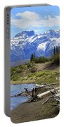 Following The Athabasca River Portable Battery Charger