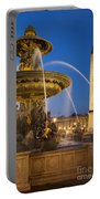 Fontaine Des Mers Portable Battery Charger