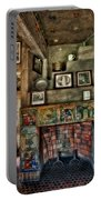 Fonthill Castle Bedroom Fireplace Portable Battery Charger