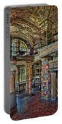 Fonthill Castle Library Room Portable Battery Charger