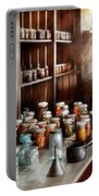 Food - The Winter Pantry  Portable Battery Charger by Mike Savad