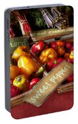 Food - Vegetables - Sweet Peppers For Sale Portable Battery Charger