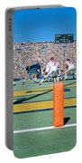 Football Game, University Of Michigan Portable Battery Charger