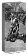 Football Injury, 1891 Portable Battery Charger